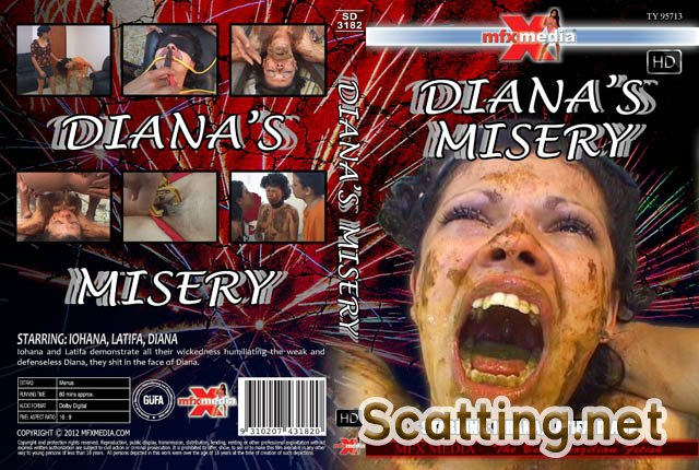 Iohana, Latifa, Diana - SD-3182 Diana's Misery (Domination, Brazil) MFX Media [HDRip]
