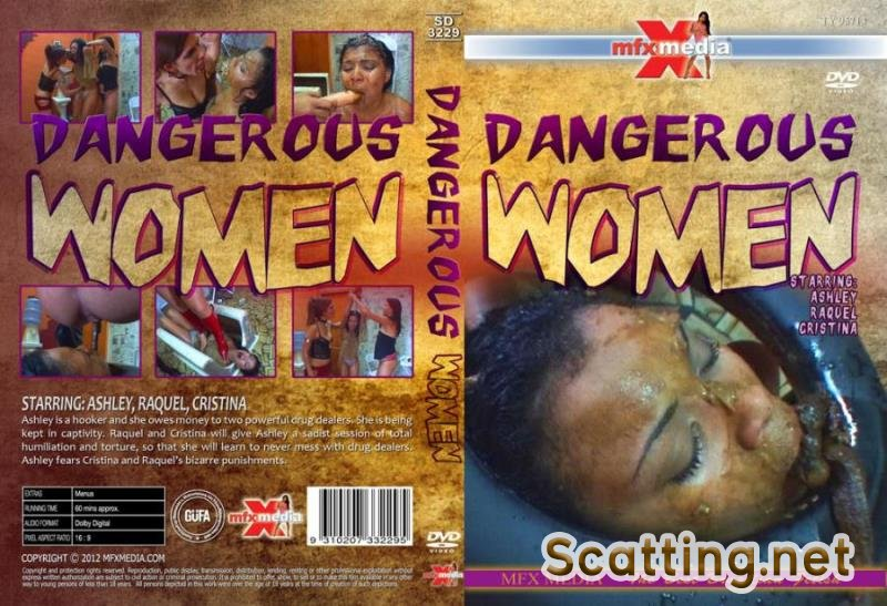 Ashley, Raquel, Cristina - SD-3229 Dangerous Women (Lesbian, Vomit, Domination) MFX Media [HD 720p]