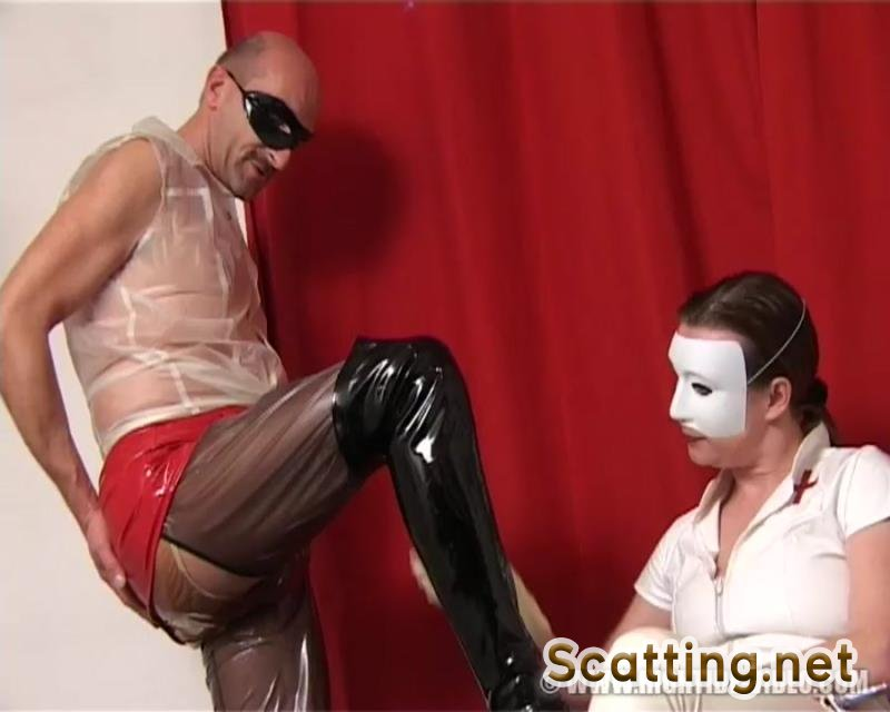 Chris-Extreme, 2 Male Patients - Rubber Shit Clinic (Scat, Pissing, Rubber) Hightide [SD]
