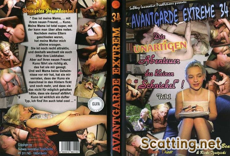 Schnuckel Bea, Ricky Tzatzicky - Avantgarde Extreme 34 (Germany, Blowjob, Sex Shit) Subway Innovative Productions [DVDRip]